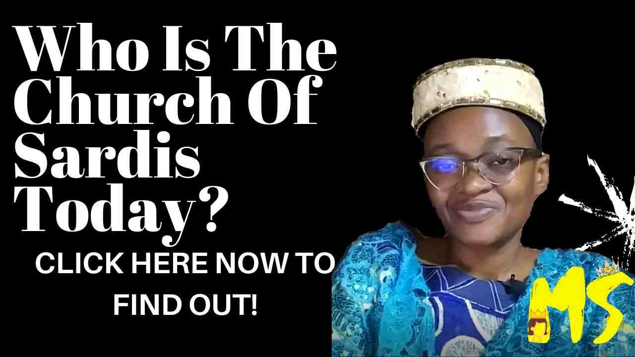 Who Is The Church Of Sardis Today?