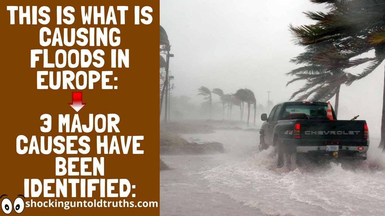 👉This Is What Is Causing Floods In Europe😱😱