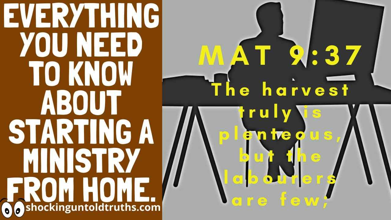 👉How To Begin A Ministry Through Blogging.😲JOIN THE 5 BILLION+ HARVEST FROM HOME!!!!!