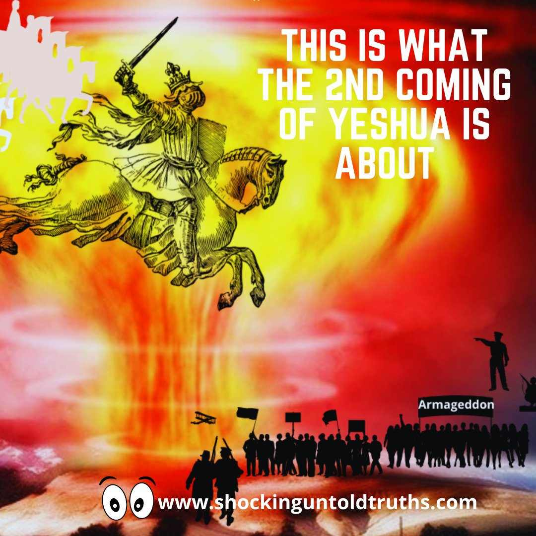 👉What Is The Second Coming Of Yeshua About? IT'S ABOUT 3 THINGS🔥🔥🔥