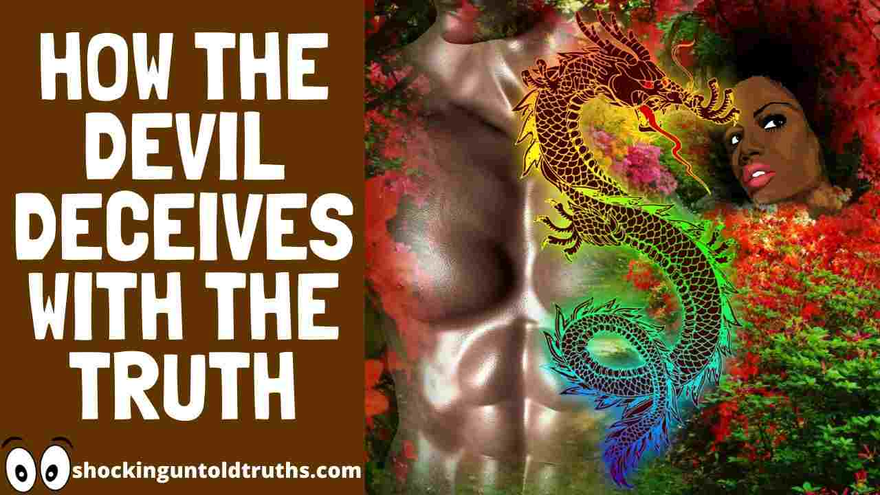 Genesis 3:4-5 Commentary==>🤔[HOW THE DEVIL DECEIVES WITH THE TRUTH]