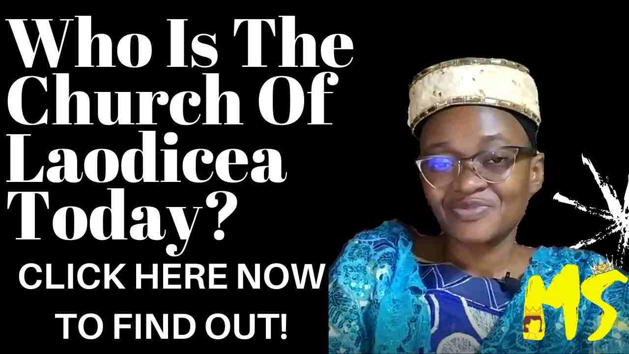 Who Is The Church Of Laodicea Today?