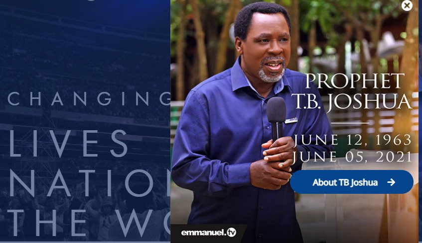 TB Joshua's Sudden Death:😱😱END-TIMES PROPHETIC MEANING FOR THE ISRAELITES-AFRICANS!